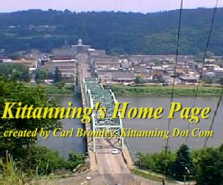Overlooking Kittanning and the Allegheny River